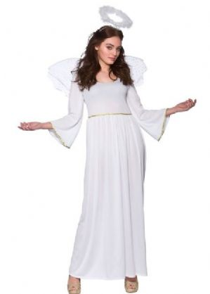 Christmas Angel Ladies Plus Size Costume (EF2202)